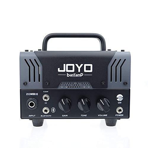 JOYO Bantamp Zombie 20w Pre Amp Tube Hybrid Guitar Amp head Built in Cab Speaker Amp Simulation and Bluetooth Wireless function