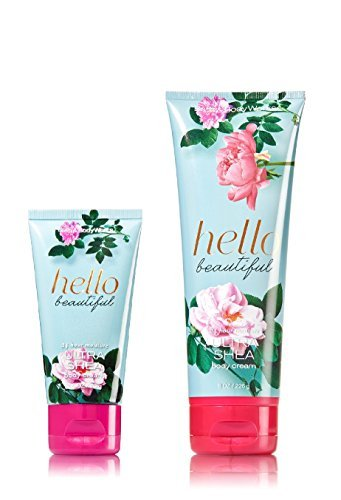 Bath & Body Works One for home & One for Travel – ULTRA SHEA Body Cream Set – Hello Beautiful by Bath & Body Works