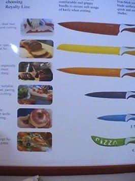 Cuchillos Royalty Line 7 Piezas