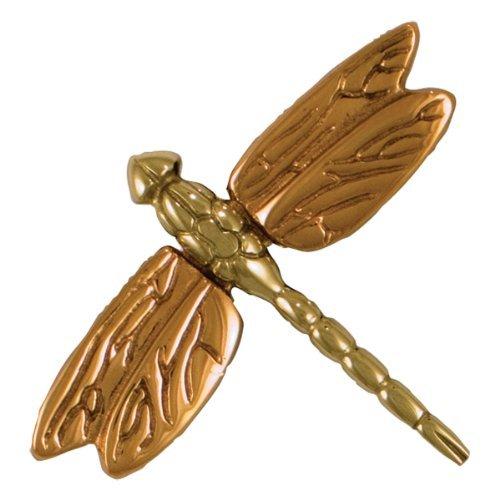Dragonfly in Flight Doorbell Ringer - Brass/Bronze by Michael Healy Designs