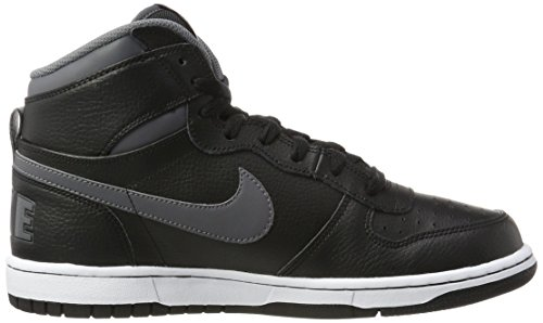 Nike Big High, Zapatillas Altas para Hombre Negro (Black/dark Grey)