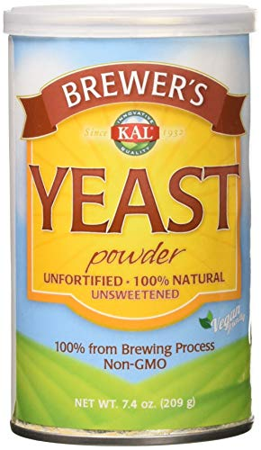 Brewers Dry Yeast (Kal Brewer's Yeast, 7.4 Ounce)