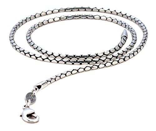 Bico Snake 20 inch Chain Necklace (FT100 20in) Tribal Skate Jewelry]()
