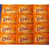 15 X Eno Fruit Salt Antacid Instant Acidity Relief Orange Flavour 5g X 15 Sachet
