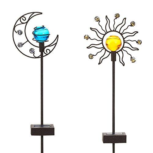 Sun And Moon Solar Garden Lights