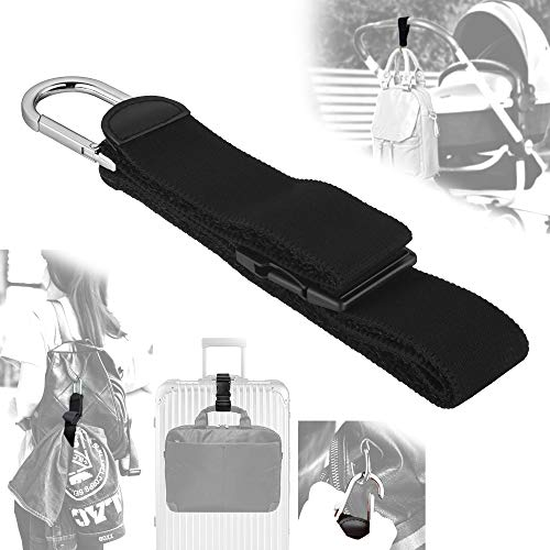 - Add A Bag Luggage Strap Jacket Gripper, ZINZ D-ring Hook Baggage Suitcase Straps Belts Travel Accessories