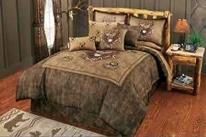 Amazon Com Cabela S Whitetail Ridge Comforter Set Queen
