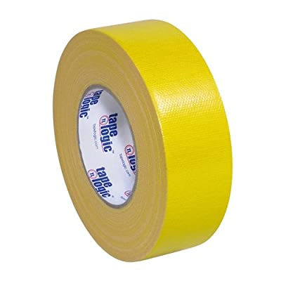 "Tape Logic T987100Y3PK, 10.0 Mil Duct Tape, 2"" x 60 yd, Yellow (Pack of 3) by Tape Logic"