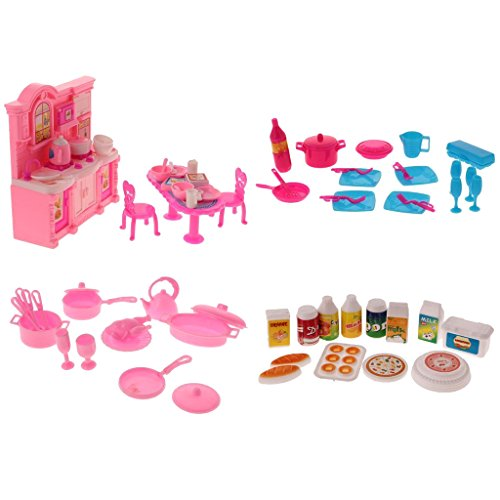 food and dishes for barbies - 2