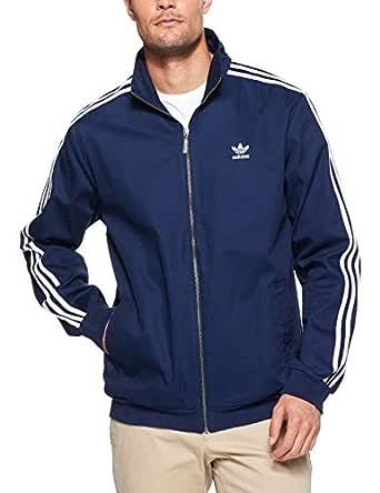 adidas Men's Co Woven Track Jacket, Collegiate Navy, S