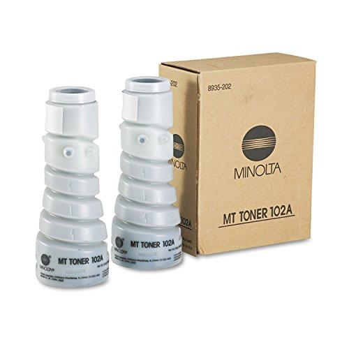 Discount KONICA-MINOLTA 8935202 Copier toner cartridge for minolta 1083, 2010 (type 102a), black, 2/box