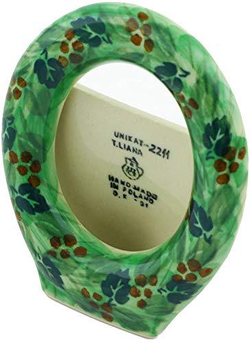 新作商品 ポーランド製陶器製写真フレーム 4インチ UNIKAT 春の庭 B00LLNMMGU UNIKAT 4インチ B00LLNMMGU, 下條村:c722c79f --- narvafouette.eu