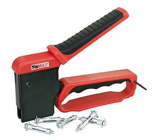 Molly M71921-XJ Valibox - Pinza para instalar tacos con 40 tacos, negro/rojo: Amazon.es: Bricolaje y herramientas