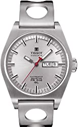 Tissot T0714301103100 PR 516 mens Silver Automatic Heritage Watch 0714301103100