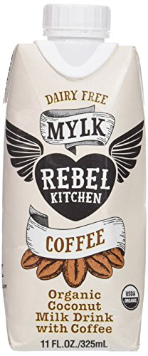 Rebel Kitchen Coconut Milk Drink, Coffee, 11 Fluid Ounce