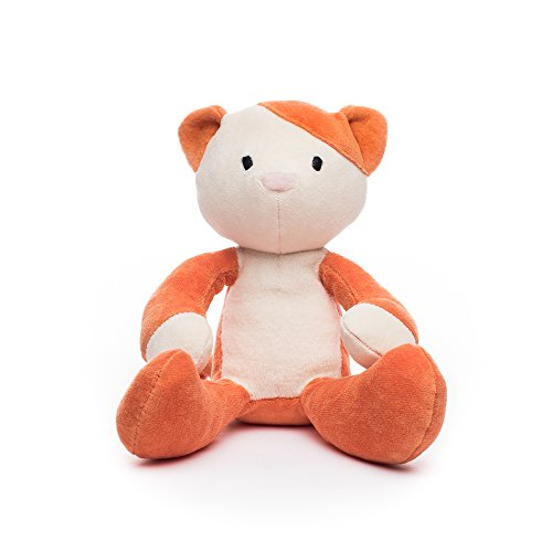 Bears For Humanity Kitty Stuffed Animal - Organic Cat is a Non-Toxic, 12