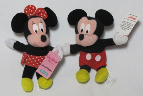 Nip Disney Mickey Mouse (2001 Walt Disney World Mickey Mouse Mini Bean Kellogs NIP)