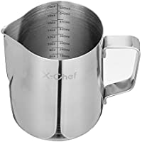 X-Chef Stainless Steel Creamer Milk Frothing Pitcher (20 oz)