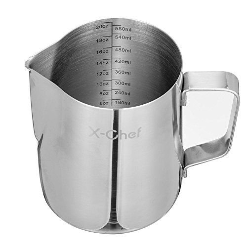 steaming pitcher 20 oz - 1