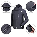CAMEL CROWN Ski Jacket Men Waterproof Warm Cotton