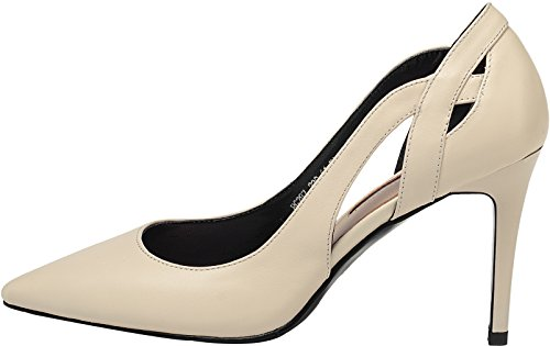 Stiletto Off Toe Slip White 5CM 2 Vaneel Women Cabmnd On 5 Shoes Pointed 8 UK Court WYapWFqS