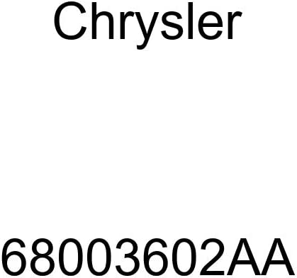 Genuine Chrysler 68003602AA Parking Brake Adjuster