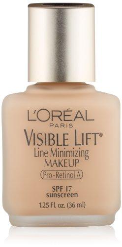 L'Oreal Paris Видимый Лифт Line-Минимизация & Tone-Повышение макияж, Сливочный Естественный, 1,25 унции