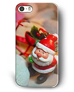 Showtime Iphone Case For Iphone 5/5s Christmas Gifts Mottled Red Father Christmas