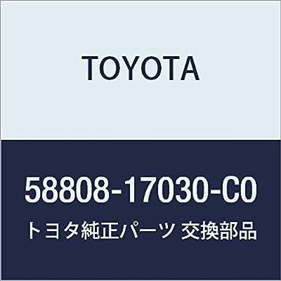 Toyota Genuine 58808-17030-C0 Shifting Hole Cover Sub Assembly