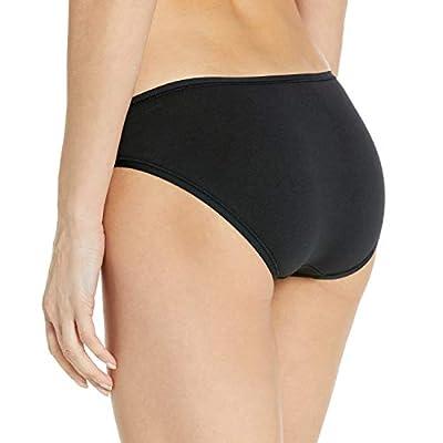 Essentials Women's Cotton Stretch Bikini Panty: Clothing