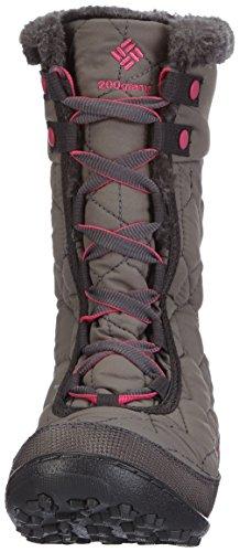 Columbia Youth Minx Mid Ii Waterproof Omni-heat - Zapatillas De Deporte Para Exterior Niñas Gris Grau (Shale/Glamour 051)