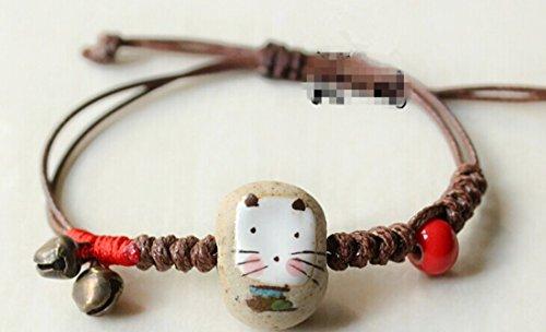 The New Folk Style Jewelry, Tibetan Jewelry Wax Rope Woven Bracelet Retro Leather Rope Lovely Bracelet