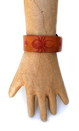 Mother Nature Goddess Earth Costume (Inked Spiders Genuine Leather Bracelet)