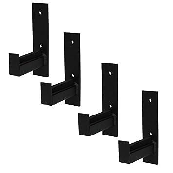 4U/® 4x Wand Reifenhalter Felgenbaum Reifenregal Reifen Felgen Wandhalterung Wandhalter