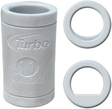 Turbo Quad Power SB Finger Grip 11//16, White