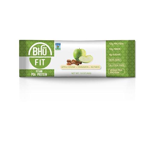 BHU BAR Apple Chunk Cinnamon Nutmeg Protein BAR ()