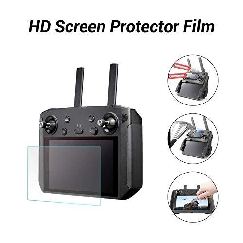 DJI Smart Controller Screen Protector Tempered Glass Monitor Screen Protective Film for Mavic 2 Pro & Zoom Drone Enterprise RC Remote Controller Anti-Glare 9H Hardness Anti-Scratch ()