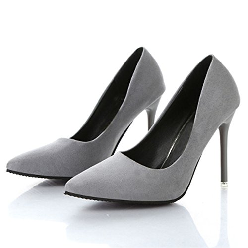 Nude 10cm Women's Pointed Heels with Spring PINZHUANG Shoes are Autumn Black Color High Sexy New Fine BZxtawqaY