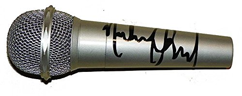 Microphone Autographed Signed (Michael Jackson Autographed Facsimile Signed Microphone)