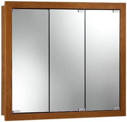 Amazon.com: Jensen 740647 Granville Oversize Medicine Cabinet, Honey Oak, 36  Inch By 30 Inch By 4 3/4 Inch: Home Improvement