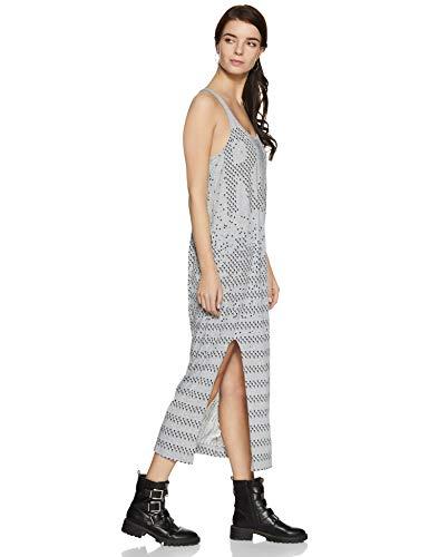 Blanc Femme Tanktop T Raw Dress Lyker 906 shirt R gris T G star Chiné 0vnFqXv4