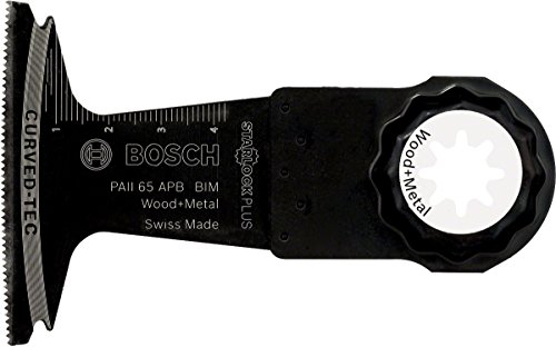 Bosch Starlock Oscillating Multi Tool 2608662564 Plunge Cut Saw Blade ''Paii 65 Apb'' of Bi-Metal by Bosch (Image #1)