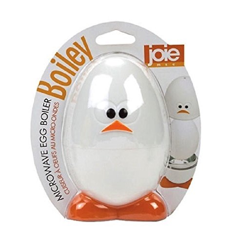 Joie Boiley Microwave Egg Boiler Gadget Face Cooking Quick Breakfast