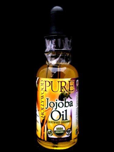 Hollywood Beauty Pure Jojoba Hair Oil, 1 Oz
