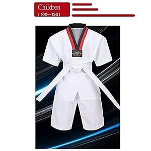 dududrz Traje De Taekwondo Ninos Dobok Taekwondo V Cuello Cómodo ...