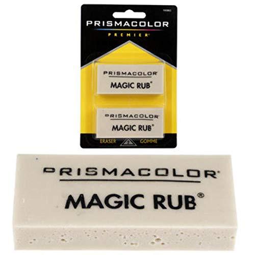 Prismacolor 2Pk Magic Rub Erasers (Units per case: 36) by DDI