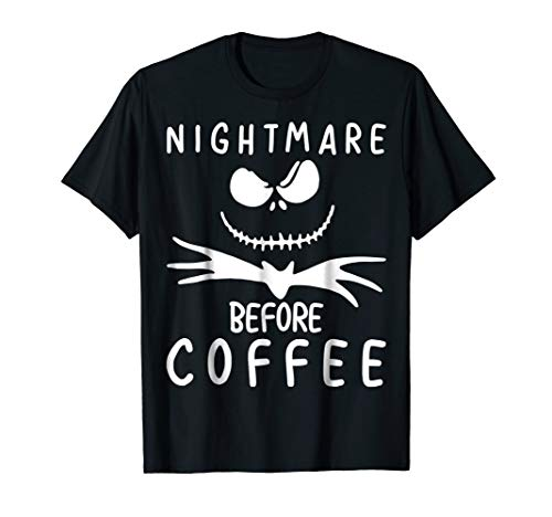 Nightmare Before Coffee T-Shirt Funny Halloween Gift