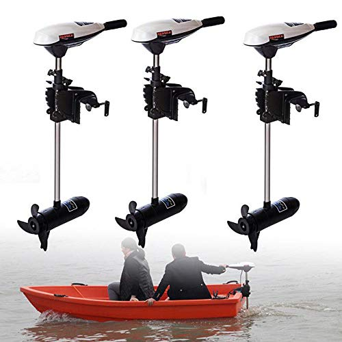 TFCFL 65LBS Electric Outboard Motor Inflatable Fishing Boat Engine F5-R2 Control 12V Stepper Controls Drives from TFCFL