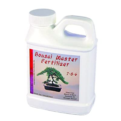 Eve's Bonsai Master Fertilizer, Exclusive Formula, Safe and Highly Effective Food for Bonsai Trees