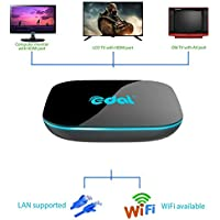 Mercu Edal X-Player Amlogic S912 Android 6.0 TV Box Bluetooth 4.0 HD Octa-core 2GB+16GB Dual WiFi 2.4G/5.0GHz H.265 4K2K 60fps Smart TV Box LAN 3D
